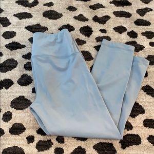 Light blue yoga pants
